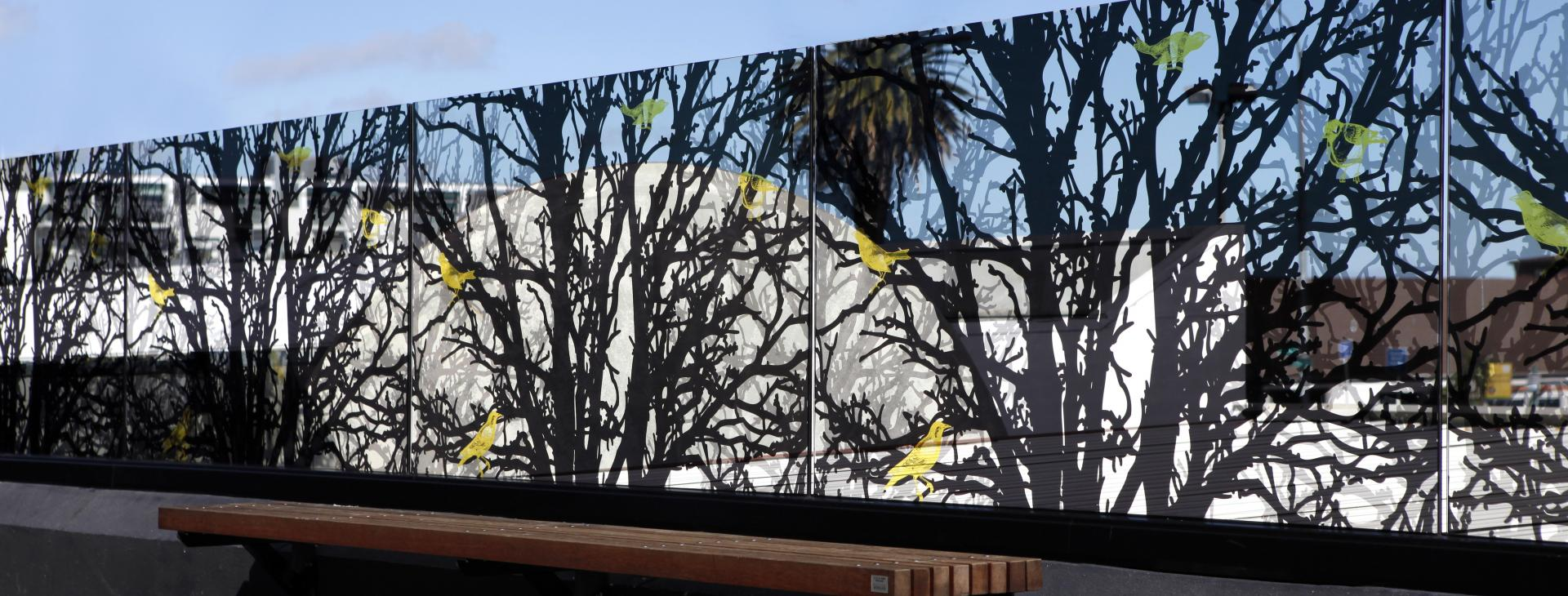South Africa Printed glass